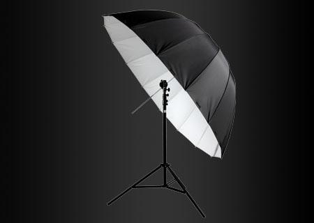 深弧度纤维伞
